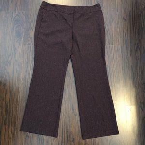 Ann Taylor dress pants wide straight leg size 16
